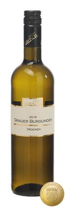 2017er  Grauer Burgunder Qualitätswein trocken, 0,75 l